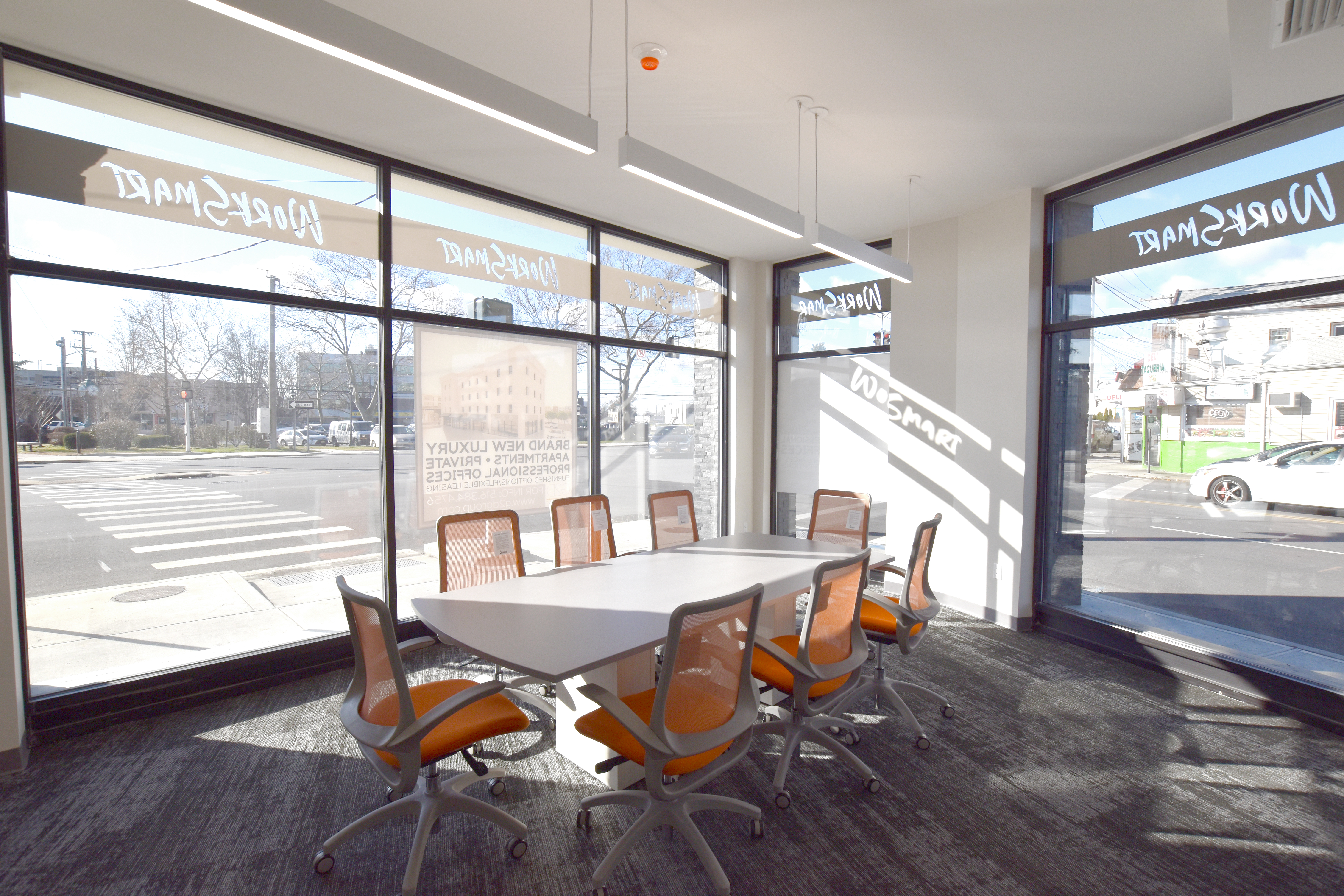 available office space hicksville conference room with refreshments